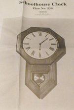 Schoolhouse Clock Vintage Woodworking Plan