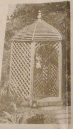Victorian Gazebo Vintage Woodworking Plan