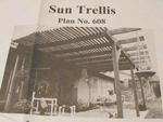 Sun Trellis Vintage Woodworking Plan