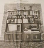 R-UBILD628 - Entertainment Center Vintage Woodworking Plan