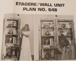R-UBILD648 - Wall Units Vintage Woodworking Plan