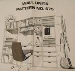 R-UBILD675 - Wall Units Vintage Woodworking Plan