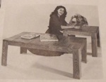 R-UBILD685 - Parquet Coffee and End Tables Vintage Woodworking Plan