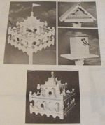 Birdhouse Trio Vintage Woodworking Plan