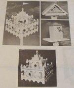 Birdhouse Trio Vintage Woodworking Plan