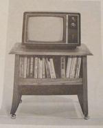 Mobile Printer Stand Vintage Woodworking Plan