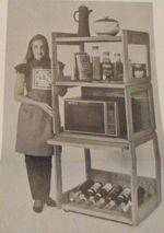 Kitchen Utility Center Vintage Woodworking Plan