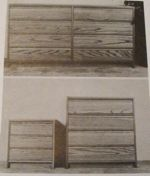 Three Piece Bedroom Set Vintage Woodworking Plan