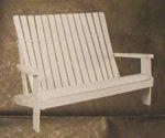 Adirondack Loveseat Vintage Woodworking Plan
