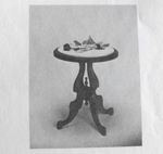 R-UBILD816 - Marble Top Table Vintage Woodworking Plan