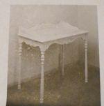 Queen Anne Desk Vintage Woodworking Plan