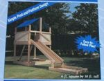 R-UBILD839 - Play Structure Vintage Woodworking Plan