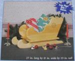 R-UBILD848 - Table Top Sleigh Vintage Woodworking Plan