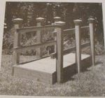 Footbridge Vintage Woodworking Plan