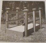 Footbridge Vintage Woodworking Plan