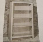 2 in 1 Bookcase Vintage Woodworking Plan