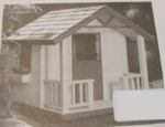 R-UBILD942 - Cottage Playhouse Vintage Woodworking Plan