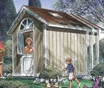 R-UCD-PP12010 - 3 Gable Storage Shed Vintage Woodworking Plans
