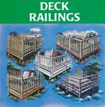 R-UCD-PP13023 - 5 Deck Railing Designs Vintage Woodworking Plan Set