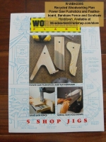 R-WBH2095 - 5 Shop Jigs Vintage Woodworking Plan