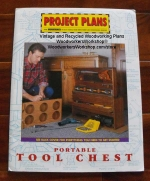 Portable Tool Box Vintage Woodworking Plan, portable tool chest,full size drawings,templates,full sized patterns,vintage woodworking plans,old projects,recycled,woodworkers projects,blueprints,drawings,blueprints,how-to-build