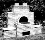 Brick BBQ Construction Plan.