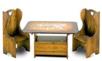 Childs Table and Chairs Vintage Woodworking Plan.