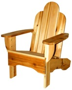 R14-1309 - Childs Resort Adirondack Chair Vintage Woodworking Plan.