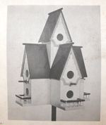 R14-1314 - Castle Martin Birdhouse Vintage Woodworking Plan