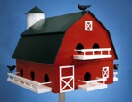 R14-1318 - Barn Birdhouse Vintage Woodworking Plan