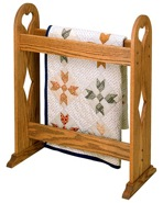 R14-1348 - Quilt Stand Vintage Woodworking Plan.