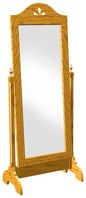 Cheval Tilting Mirror Vintage Woodworking Plan.