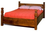 R14-1361 - Four Post Contemporary Bed Vintage Woodworking Plan