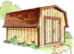 R14-1380 - Barn Shed Construction Plan.