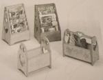 R14-1515 - Magazine Racks and Bins Vintage Woodworking Plan