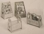 Magazine Racks and Bins Vintage Woodworking Plan