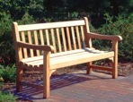 R14-1517 - English Park Bench Vintage Woodworking Plan