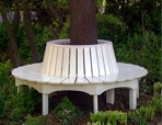 R14-1610 - Tree Seat All Round Vintage Woodworking Plan.