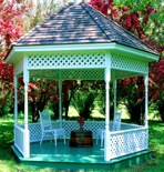R14-1692 - Gazebo 12 ft Construction Vintage Plan.