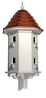 English Dovecoat Birdhouse Vintage Woodworking Plan.