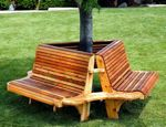 R14-1836 - T-ree Way Seat Vintage Woodworking Plan.