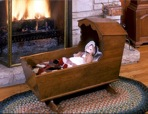 Longfellow Cradle Vintage Woodworking Plan.