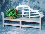 R14-2712 - Lutyens Garden Bench Vintage Woodworking Plan