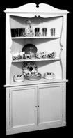 Corner Cabinet Vintage Woodworking Plan