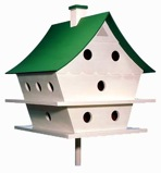 Graceful Martin House Birdhouse Vintage Woodworking Plan