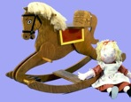 R14-3194 - Rocking Horse Vintage Woodworking Plan