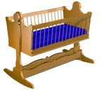 R14-3621 - Trestle Cradle Vintage Woodworking Plan.