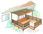 Trellis Deck Construction Vintage Plan