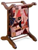 Quilt Rack Vintage Woodworking Plan.